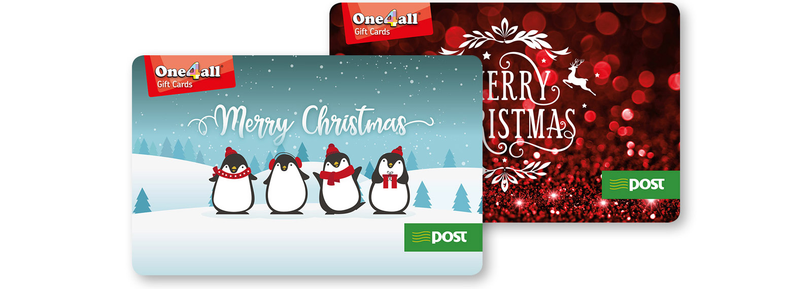 One4All Christmas Gift Cards