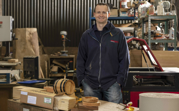 Irish wooden gifts growing their business with An Post Commerce