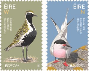 EUROPA stamps celebrate our National Birds